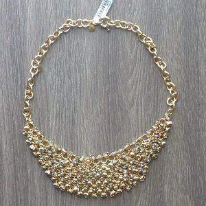 Small Jeweled Bibb Collar Necklace